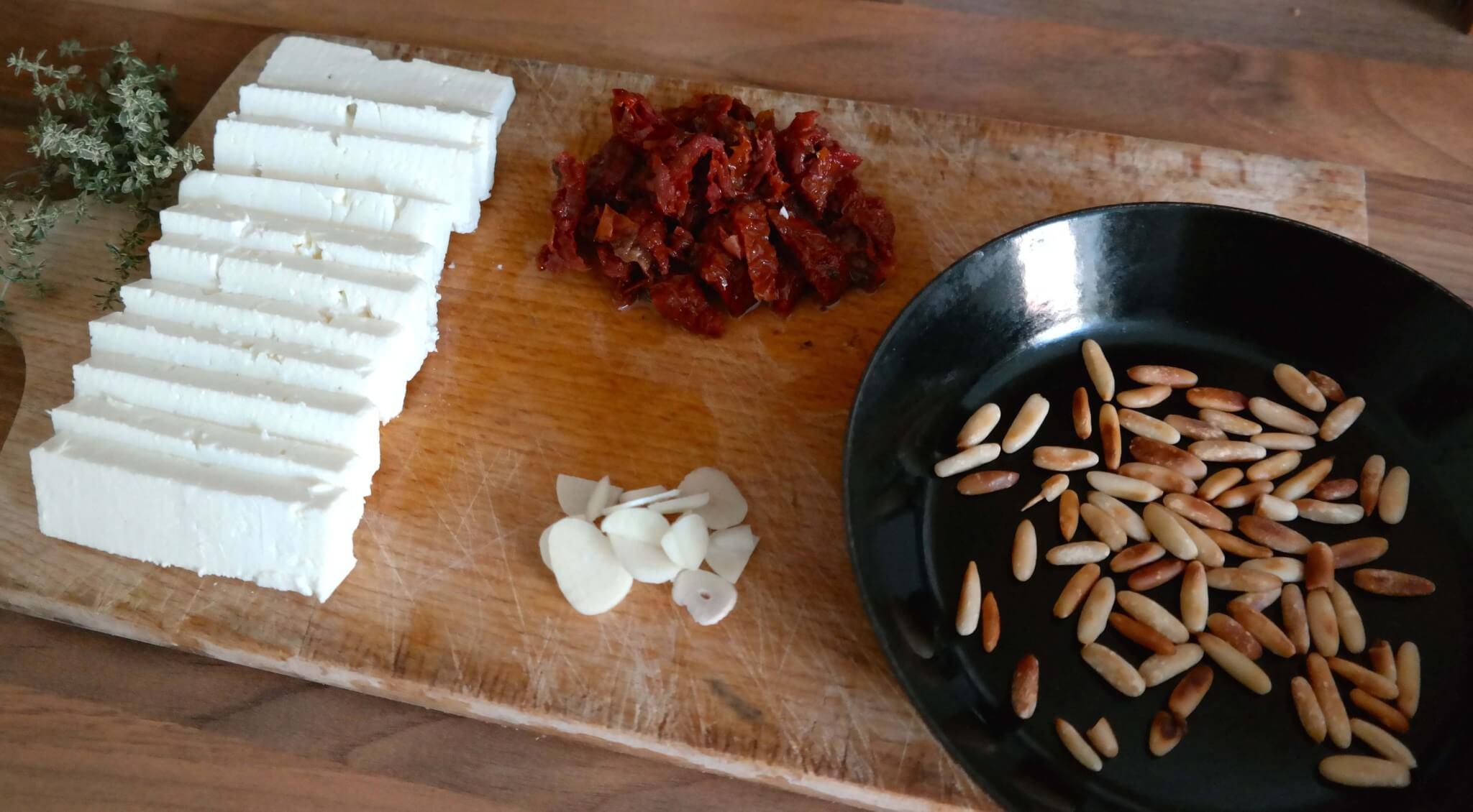 Fetapäckchen Vorbereitung - Lifestyle Blog
