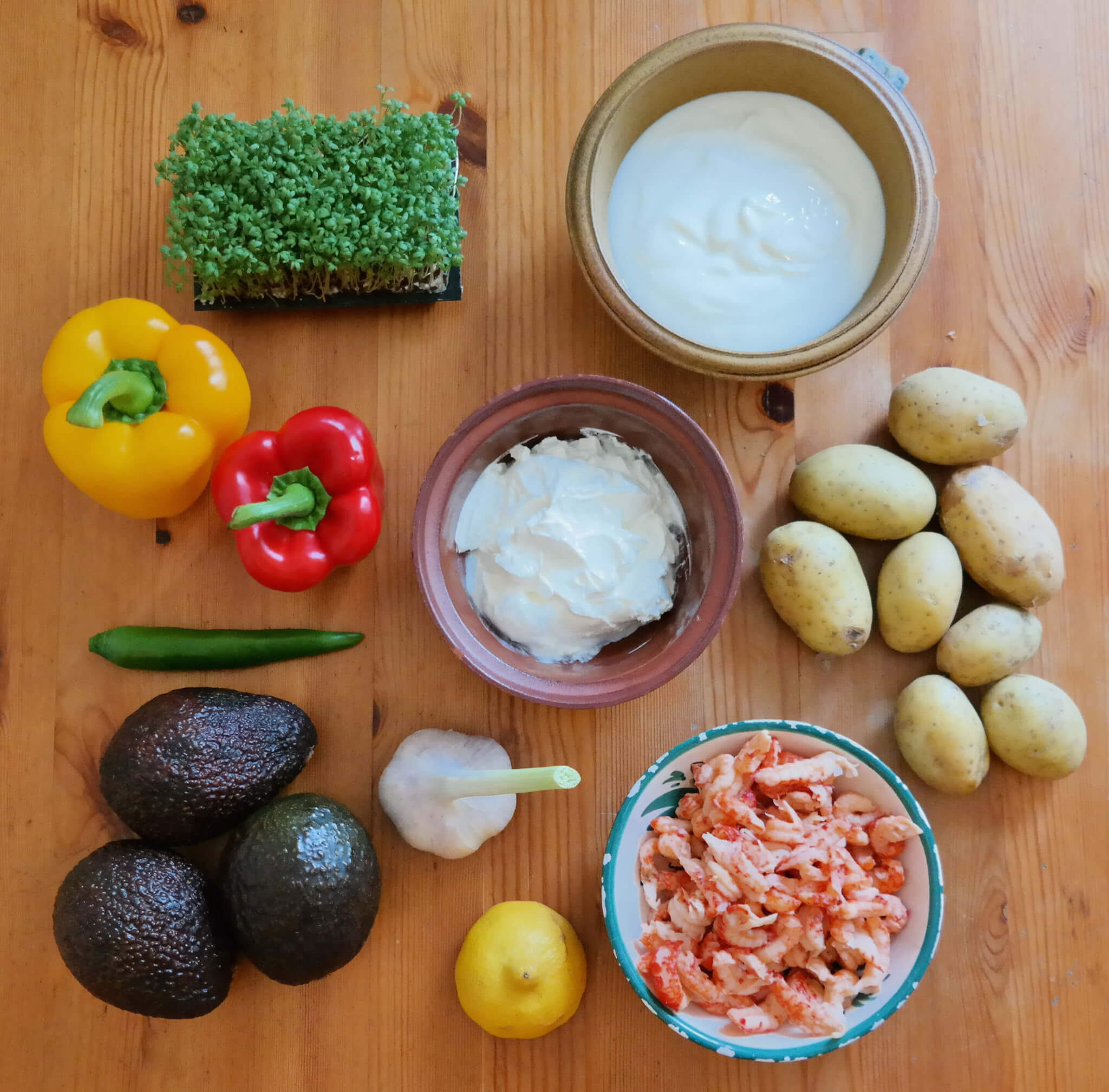 Rezept // Backkartoffeln mit Schmand und Avocado