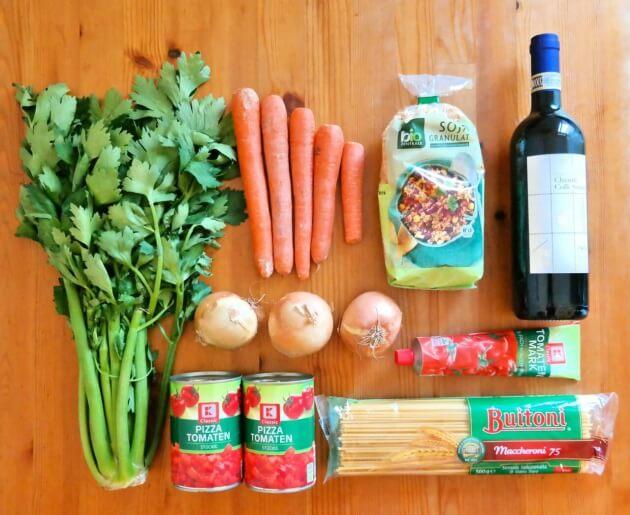 Rezept // Einfache Soja-Bolognese