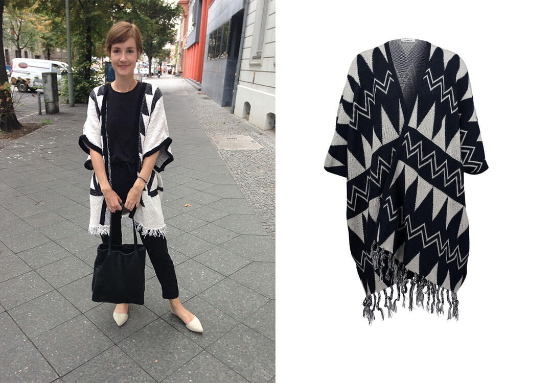 Lifestyle Blog Shopping Poncho