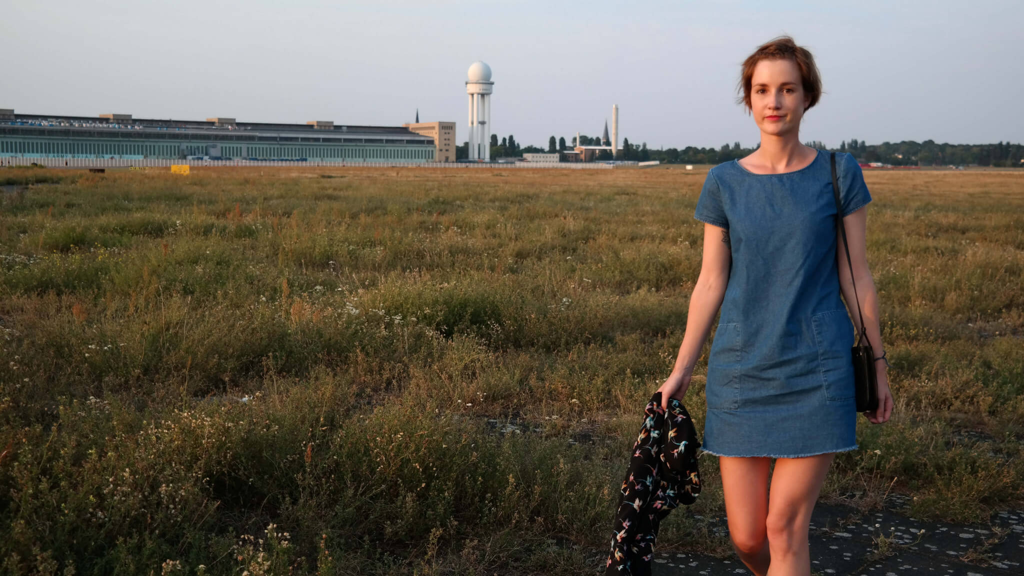 Lifestyle Blog Outfit Jeanskleid Zara