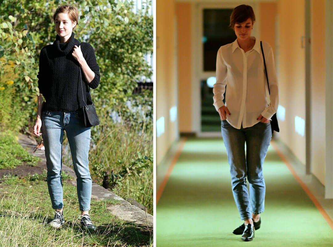 Outfit // Eine Jeans – zwei Looks kombinieren