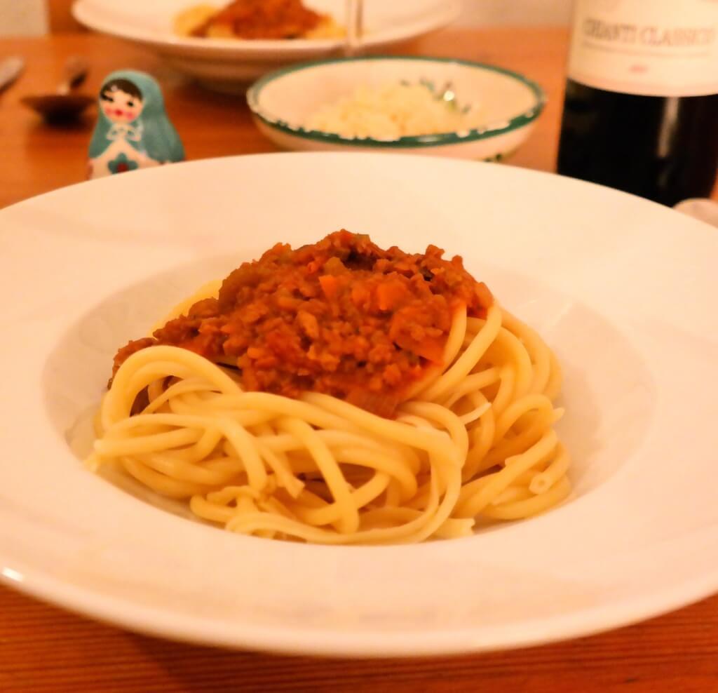 Lifestyle Blog Rezept Soja Bolognese