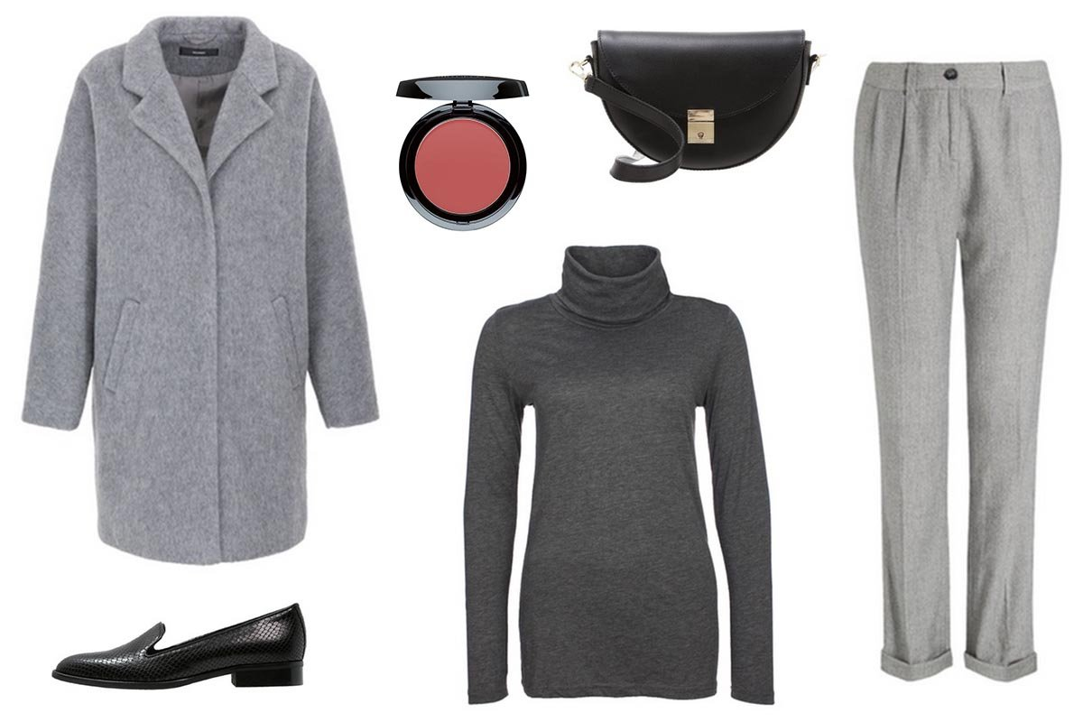 Outfit Inspiration // All Grey