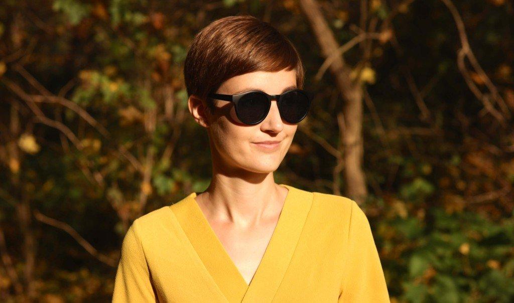 Porträt mit Sonnenbrille