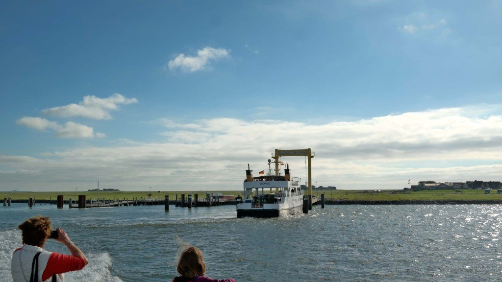 Boot von Sylt nach Hallig Hooge