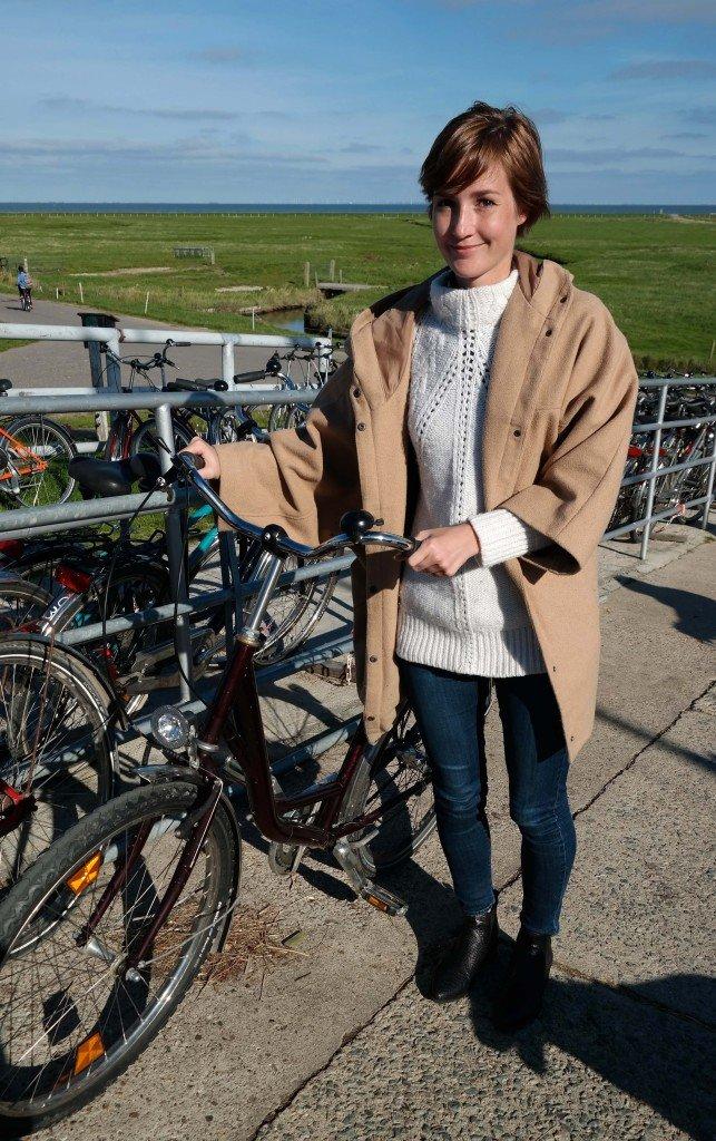 Fahrradfahren auf Hallig Hooge