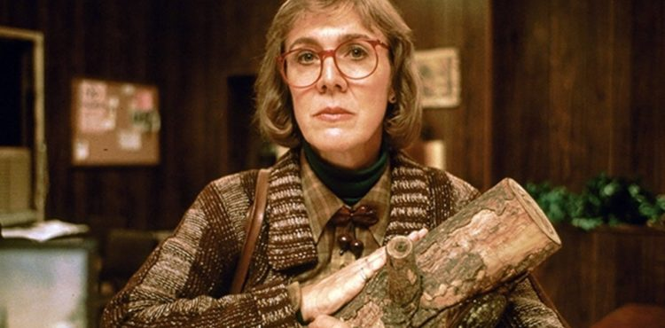 Log Lady aus Twin Peaks