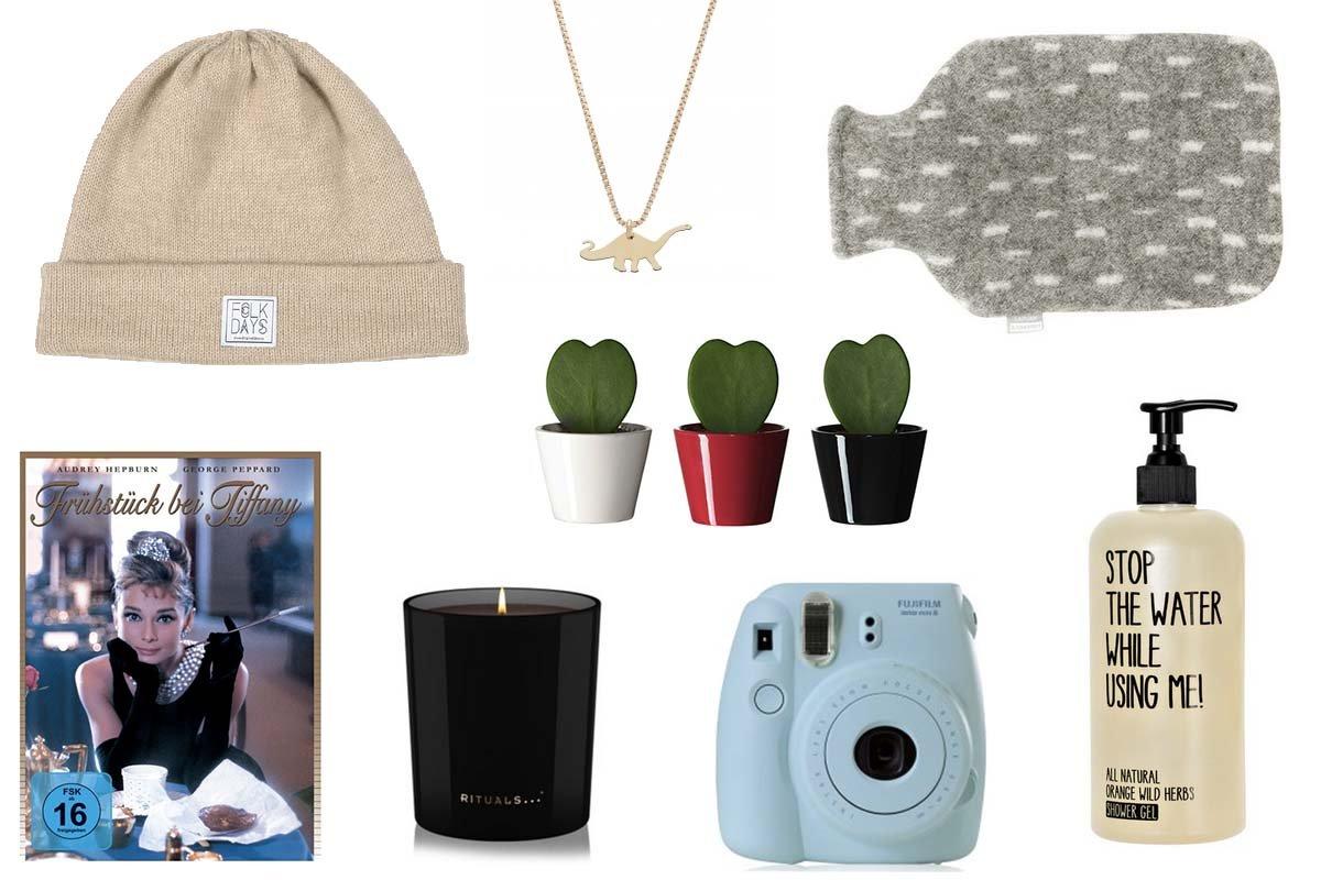 Collage Weihnachts-Geschenkideen für Frauen
