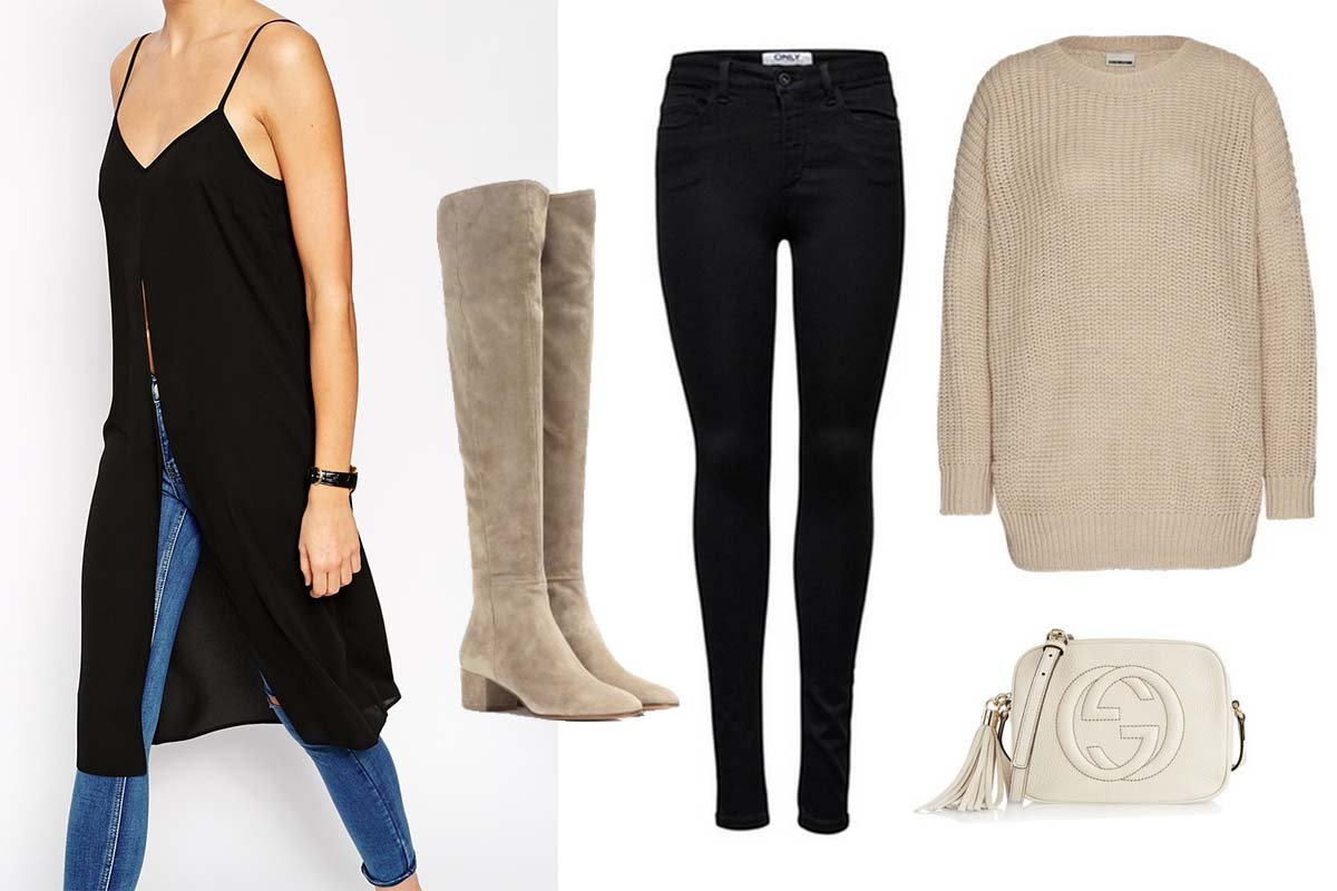 """Collage zur Outfit Inspiration """"Layering"""""""