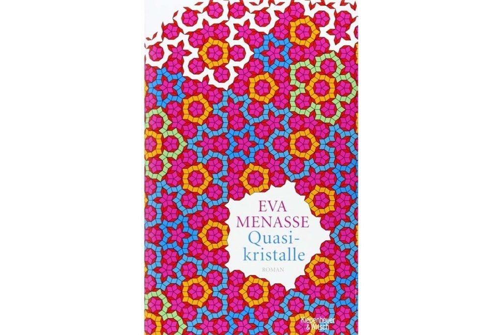 """Buchcover """"Quasikristalle"""" von Eva Menasse"""