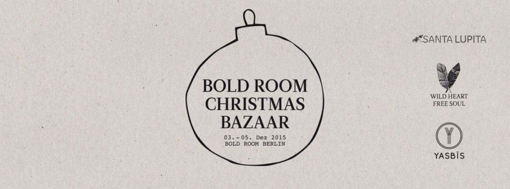 Bold Christmas Bazaar