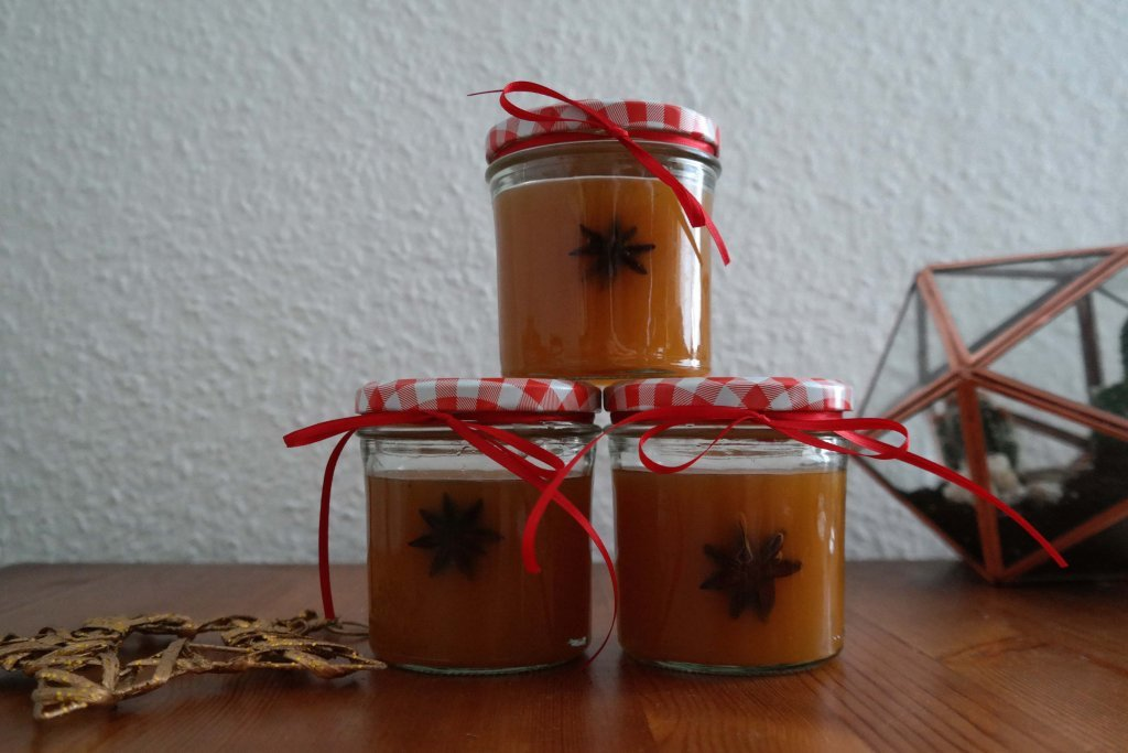 last minute geschenk orangenpunsch im glas. Black Bedroom Furniture Sets. Home Design Ideas