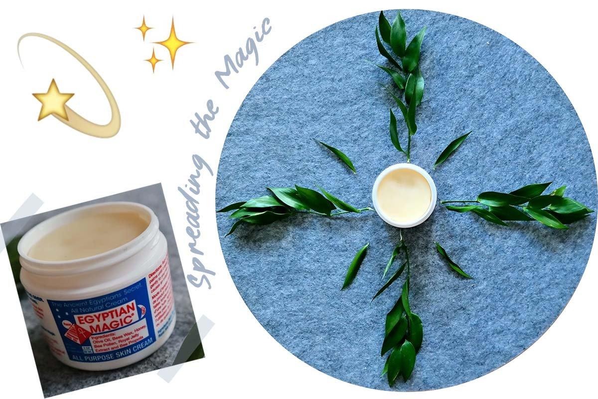 Collage Egyptian Magic Cream
