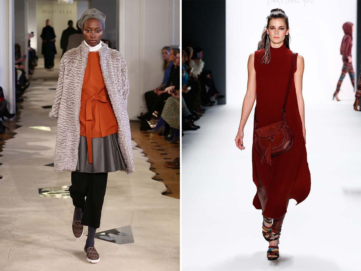 Fashion Trend 2016 - Kleid über Hose
