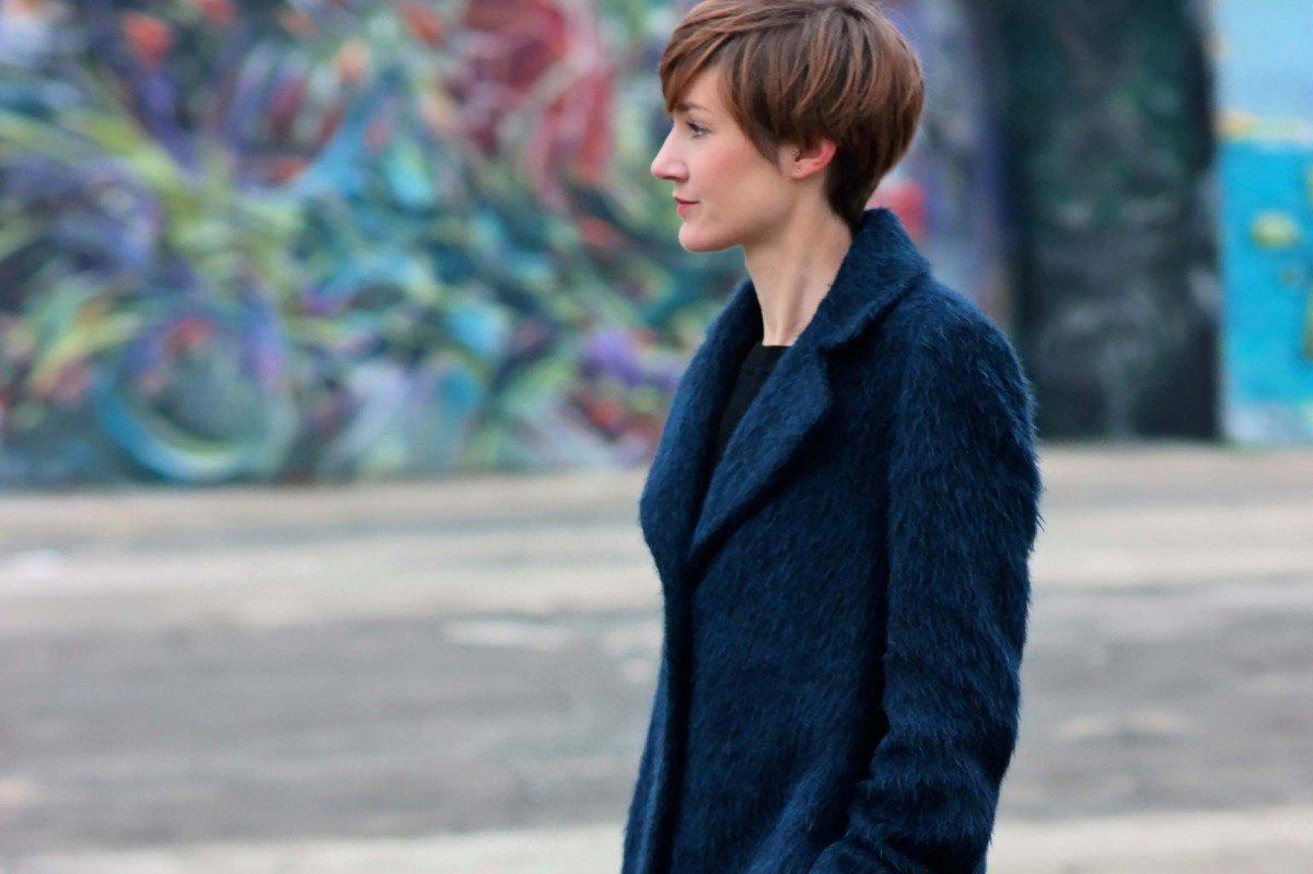 Outfit // Der blaue Winterflausch