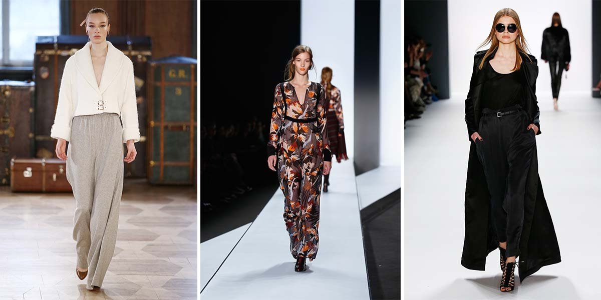 Fashion Trend 2016 - Weite Schnitte und fließende Stoffe