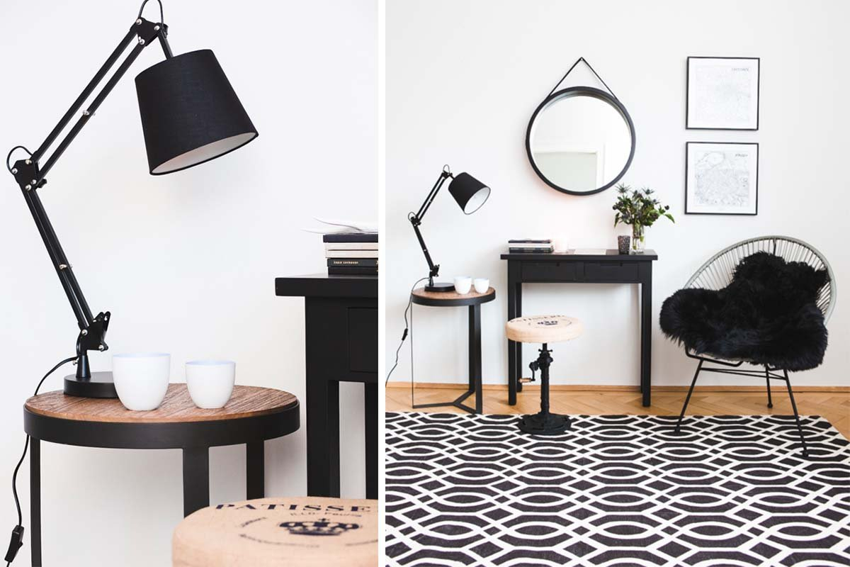 "Collage zu Interior Trend ""Monochrome"""