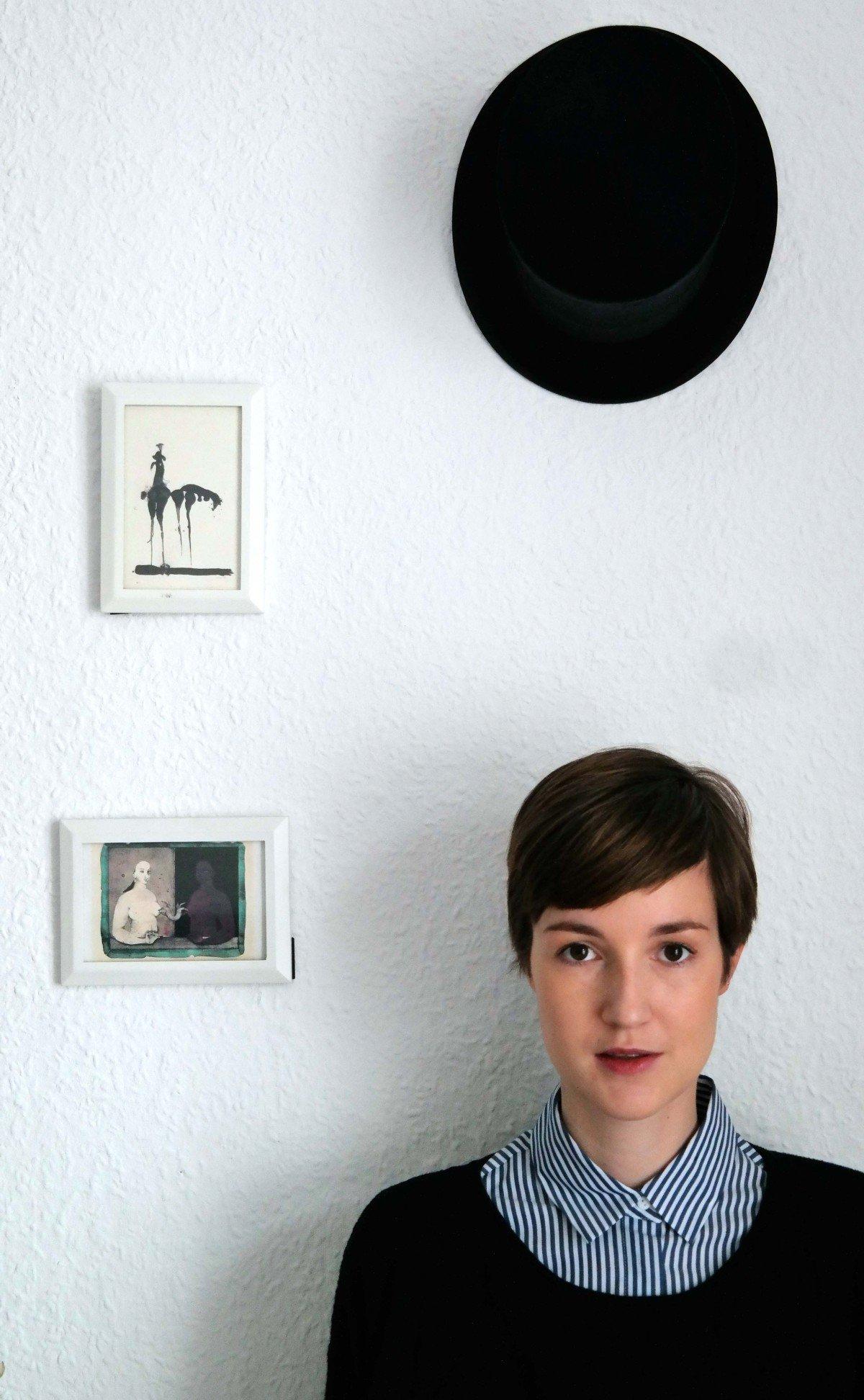 Porträt mit Bluse von Zara
