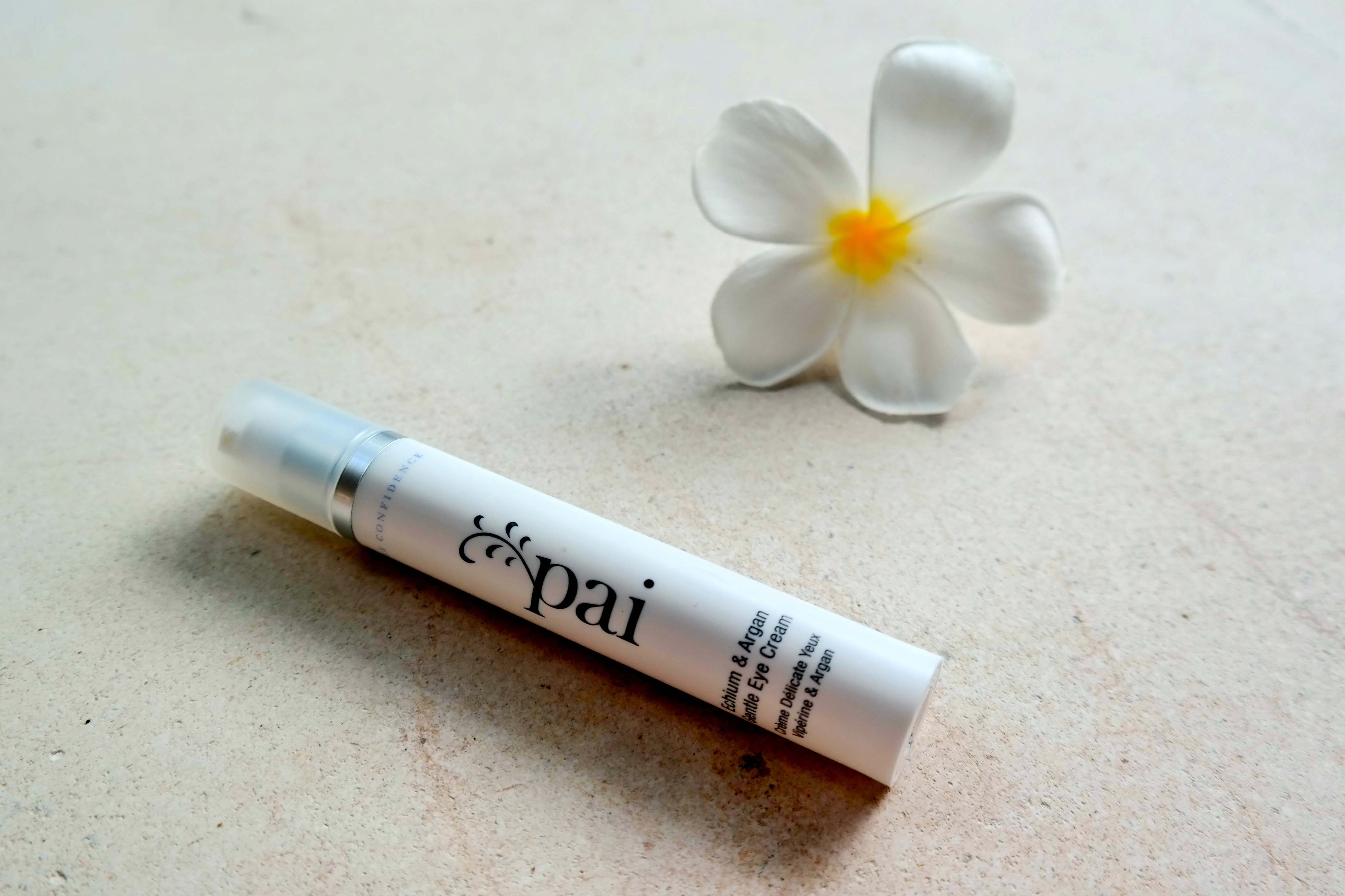 Beautyliebling der Woche // Echium & Argan Augencreme von Pai