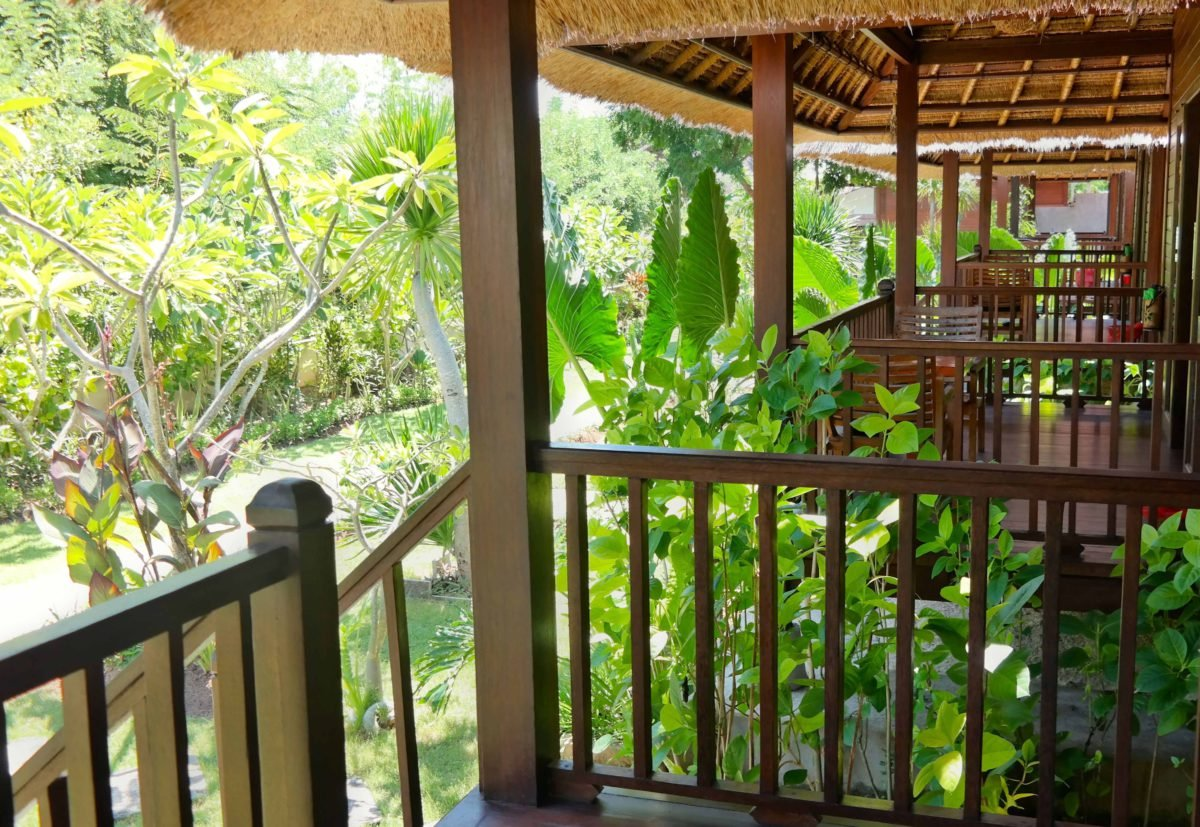 Terrassen im Akah Cottage