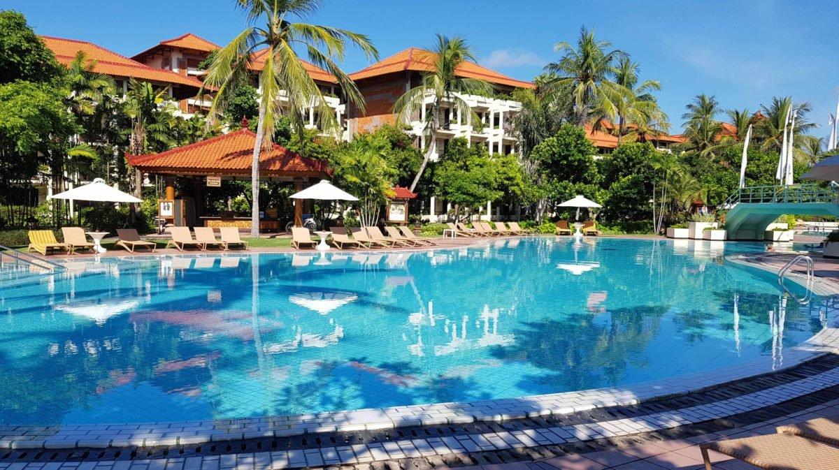 Zweiter Pool im Ayodya Resort auf Bali