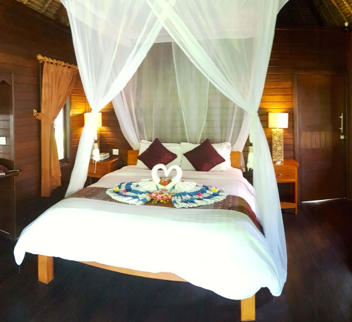 Bungalow des Akah Cottage Nusa Lembongan
