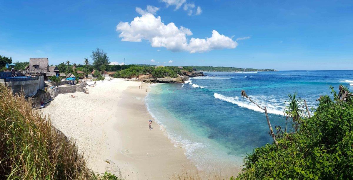 Dream Beach auf Nusa Lembongan