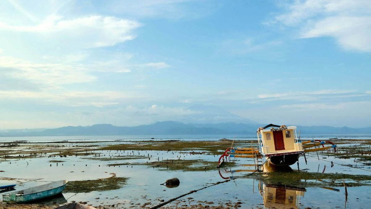 Fischerboot auf Nusa Lembongan