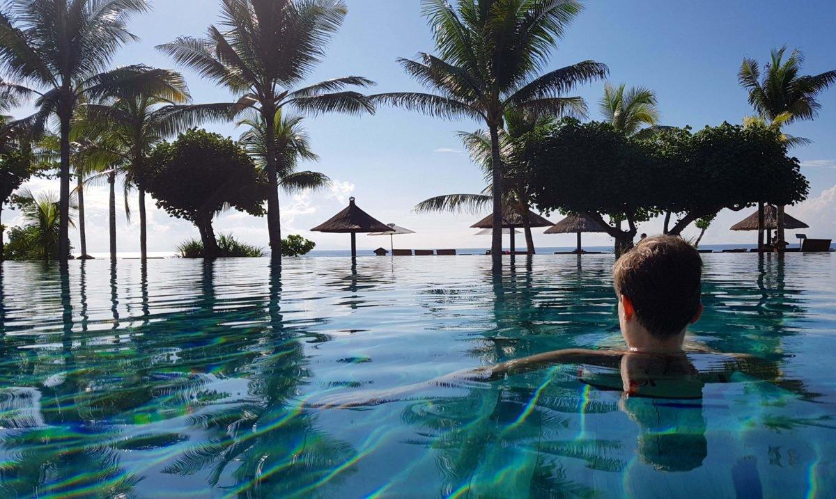 Infinity Pool des Ayodya Resorts Bali