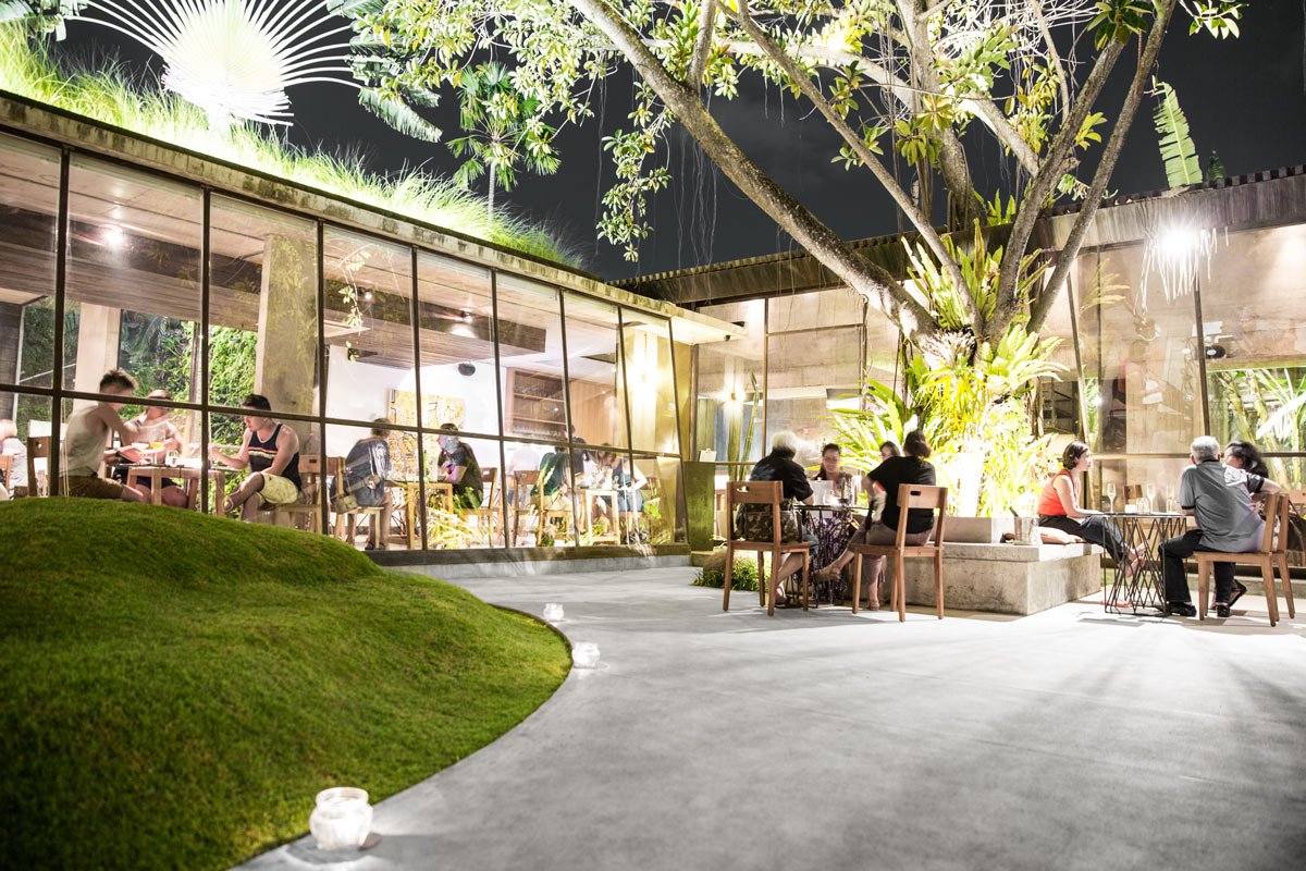 restaurant Kilo auf Bali Außenansicht