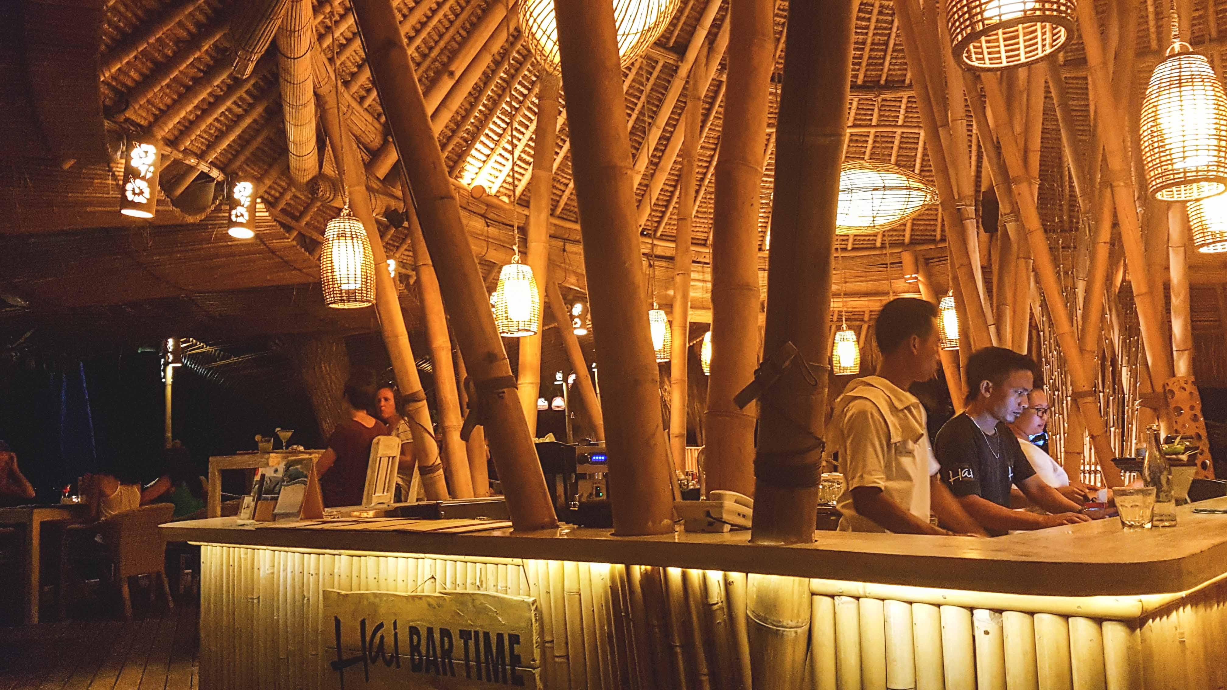 Hai Bar auf Nusa Lembongan