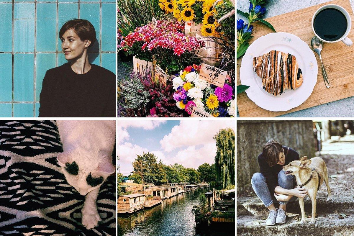 Collage mit Instagram Fotos