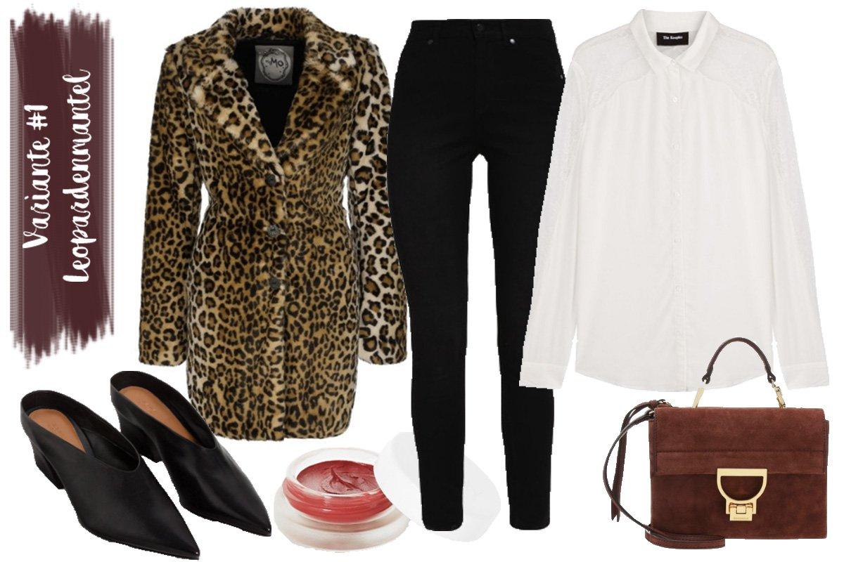 Outfit Inspiration // Leo Trend im Herbst kombinieren