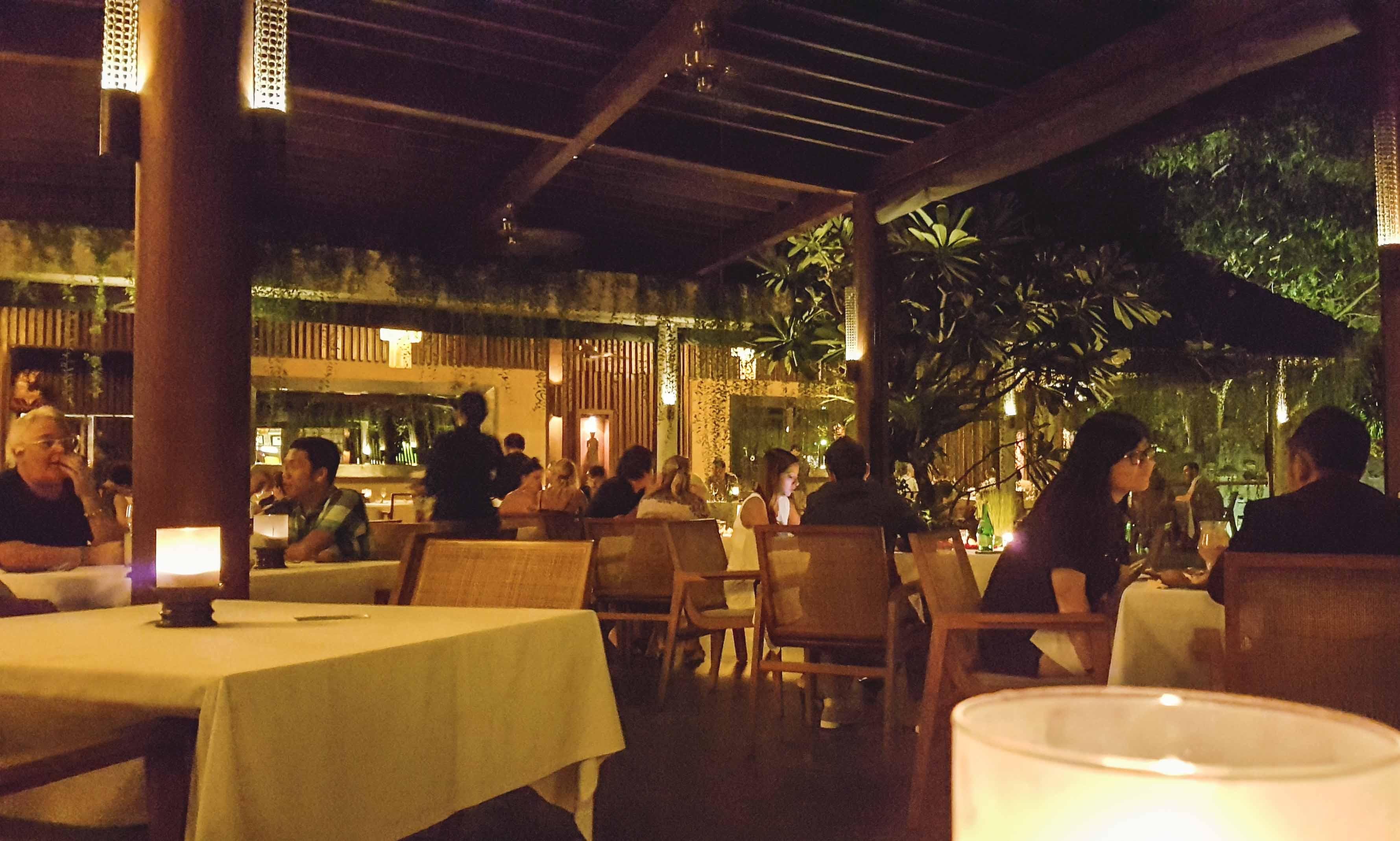 Metis Restaurant auf Bali in Seminyak