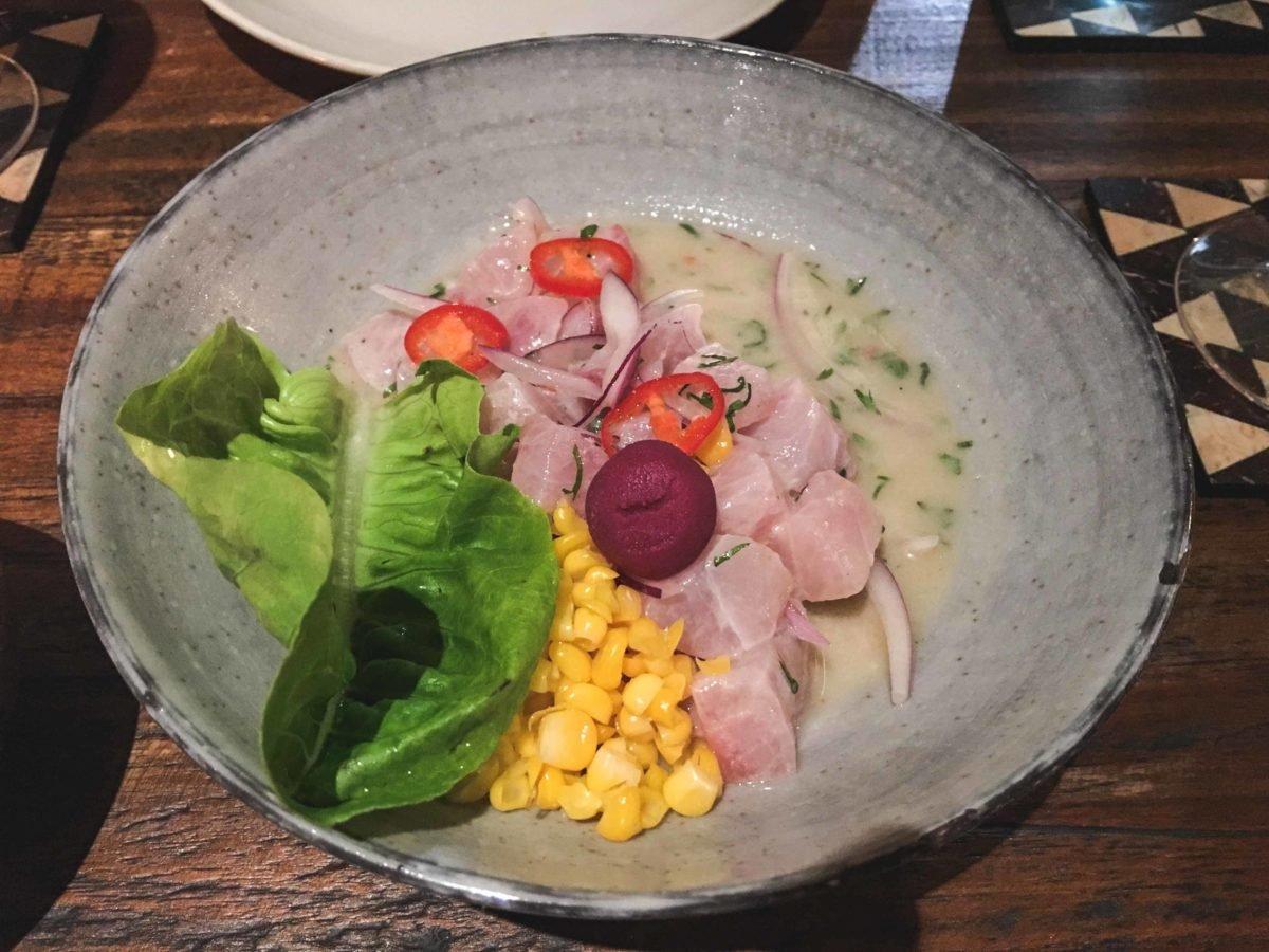 Ceviche im Restaurant Pica