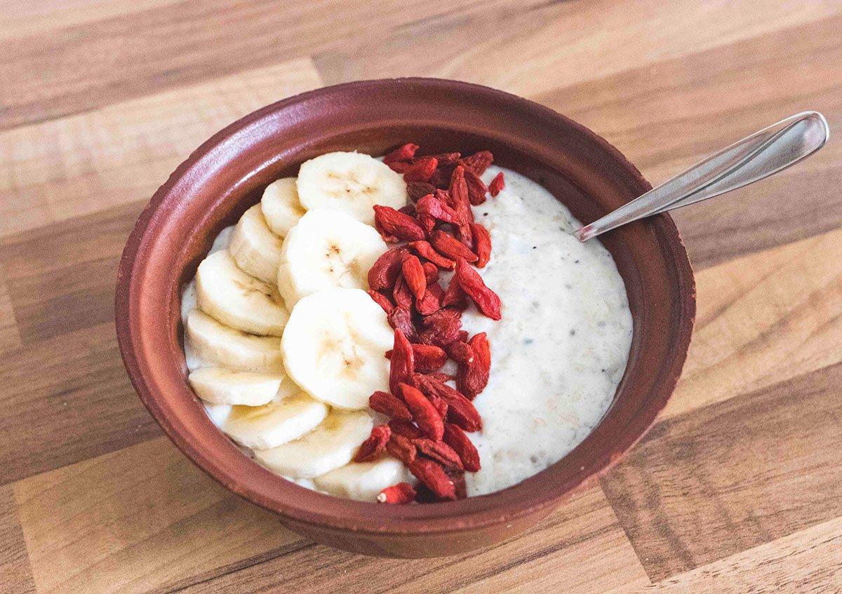 Porridge in Schale