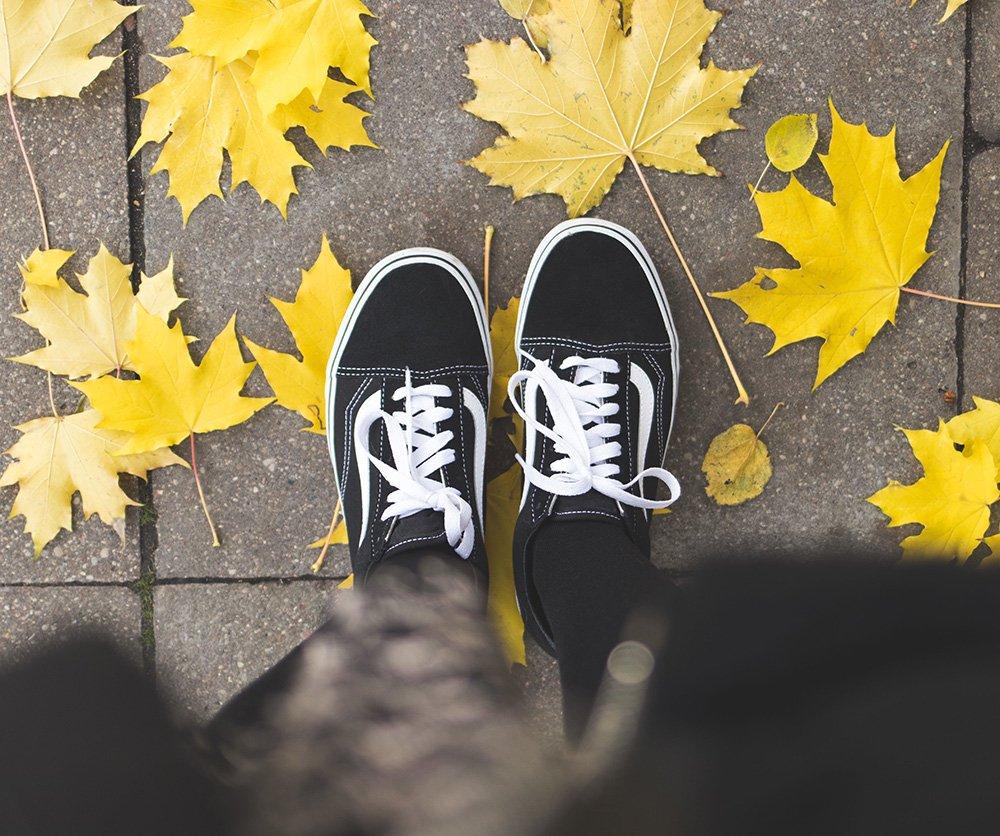 Vans Old Skool Sneaker in Schwarz Weiß