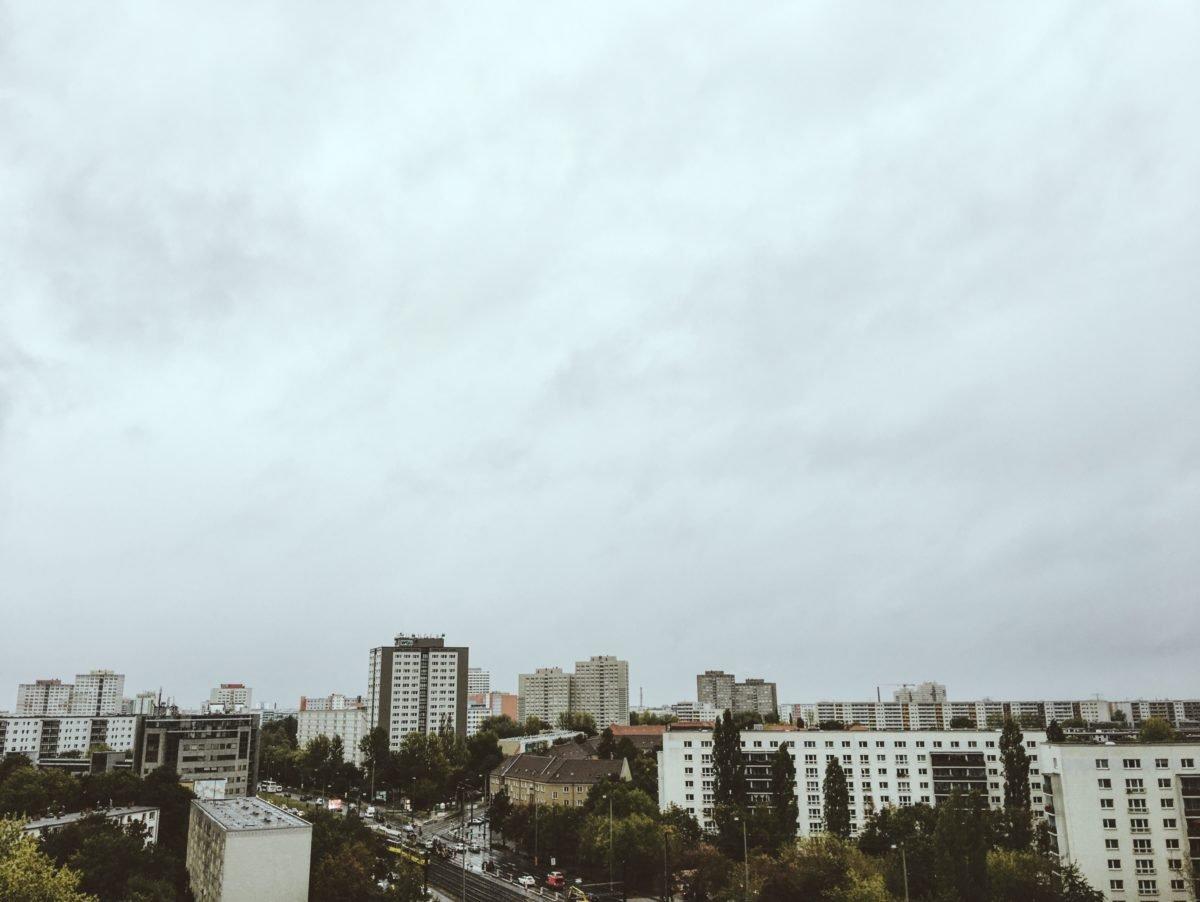 Ausblick vom Dach des Vienna House Easy Hotels in Berlin