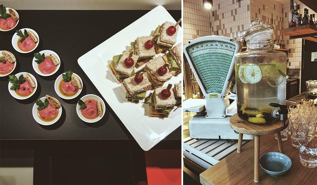 Essen und Deli im Vienna House Easy Berlin