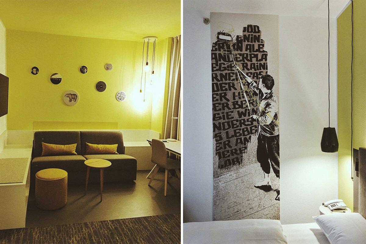Zimmer im Vienna House Easy Berlin