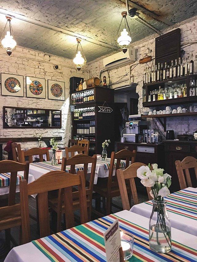 Innenansicht im Restaurant Specjaly Regionalne in Warschau
