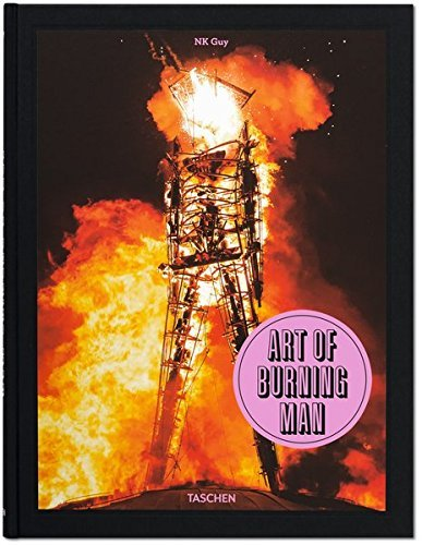 "Buchcover ""Art of Burning Man"""