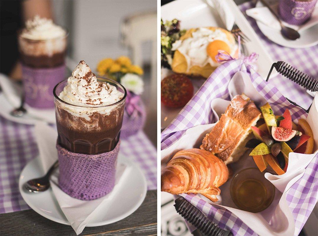 frühstück im Croque Madame
