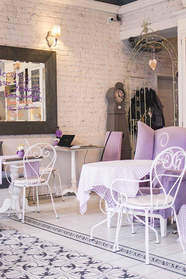Croque Madame Café in Warschau
