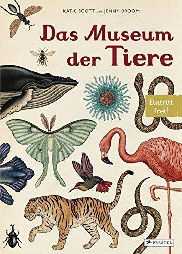 """Buchcover """"Das Museum der Tiere"""""""