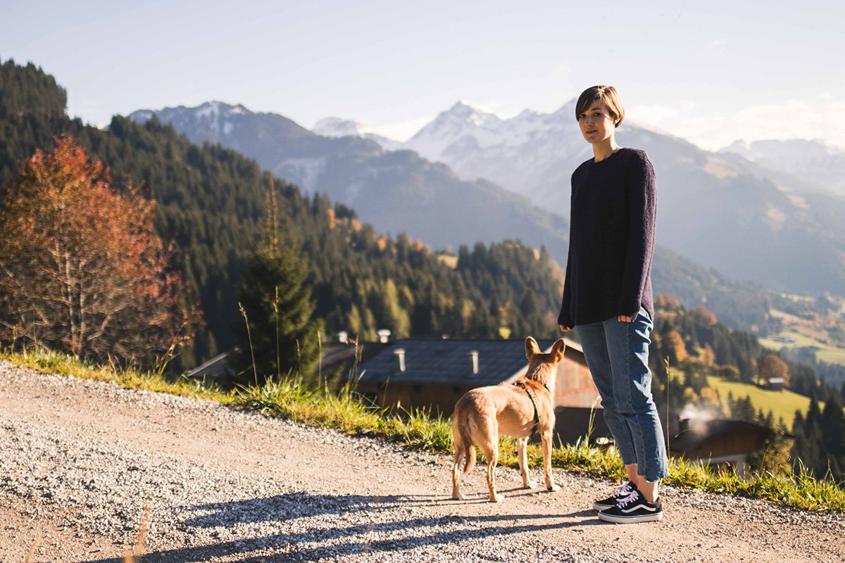 Ausblick bei Kitzbühel