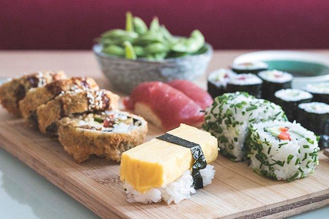 Sushi von Foodora