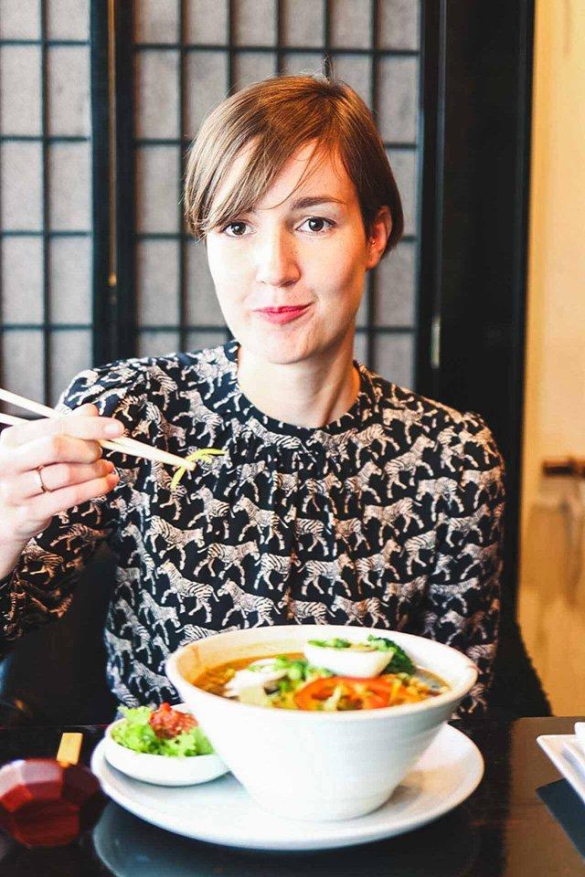 Ramen im Kiku Sushi Warschau