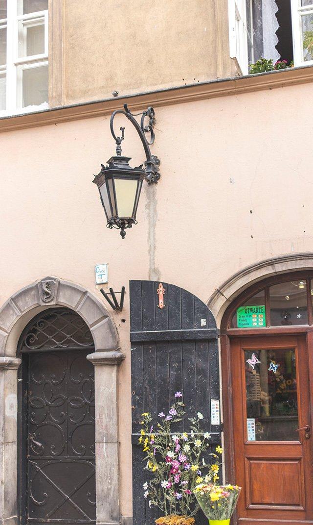 Kleiner Laden in der Altstadt von Warschau